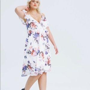 Stunning Floral Midi Dress